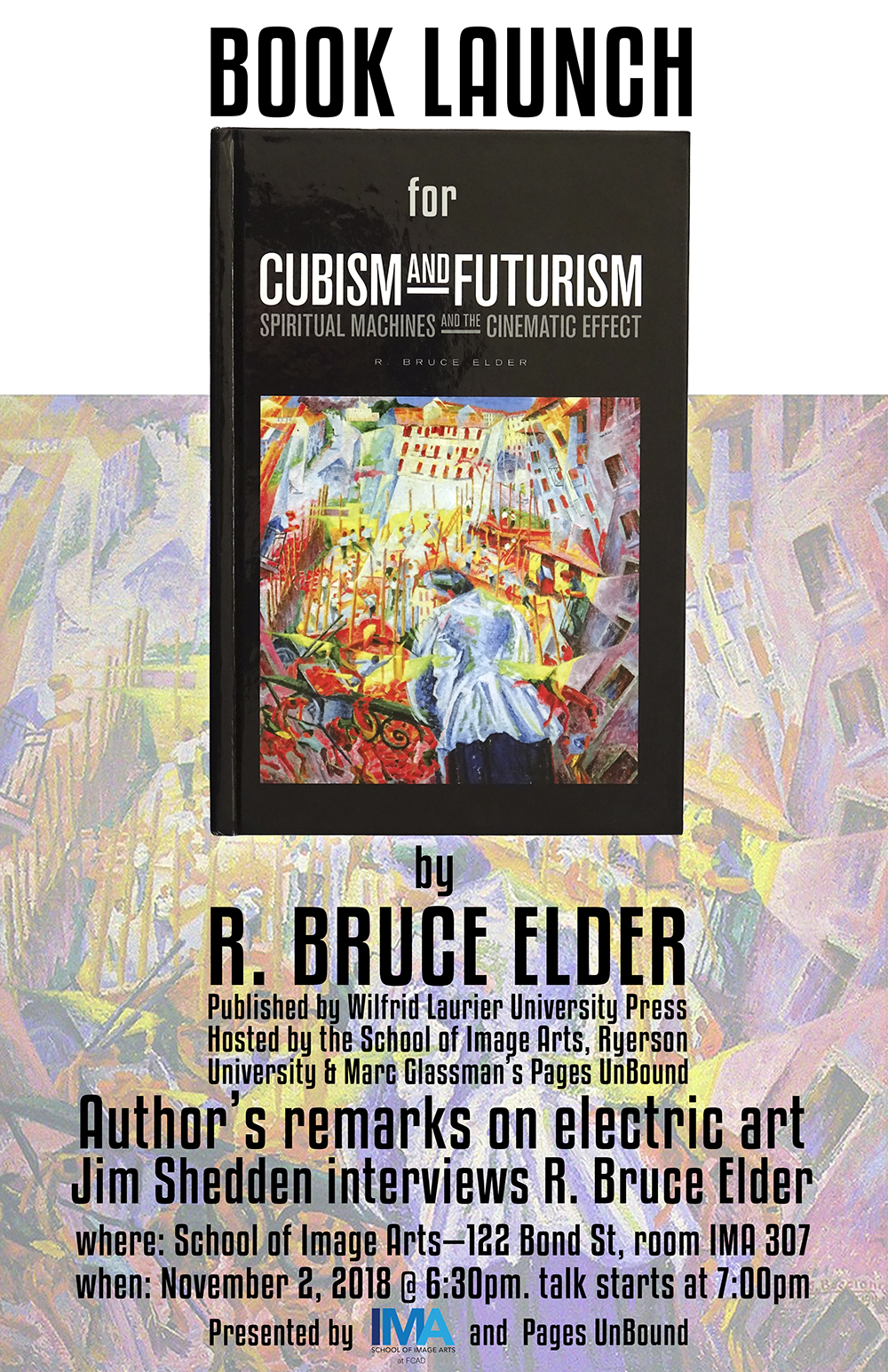 Cubism, and Futurism: Spiritual Machines and the Cinematic Effect book cover