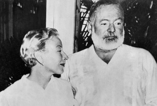 Hemingway with Mary
