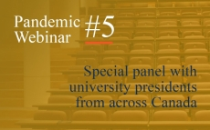 Pandemic Webinar #5: University Leaders Navigate COVID-19
